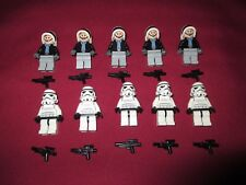 LEGO Star Wars Minifigure LOT Storm Troopers , Rebel Soldiers Weapons