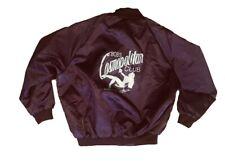 Bob's Cosmopolitan Club XXL 2XL Satin Bomber Jacket Strip Club Vintage 80s ASW