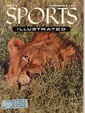 1954 Sports Illustrated December 6-Baltimore Bullets Basketball; Maurice Richard