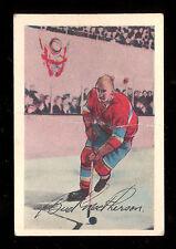 1952 53 PARKHURST HOCKEY #11 JAMES BUD MacPHERSON VG-EX MONTREAL CANADIENS