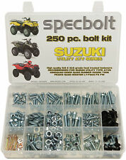 250pc Bolt kit Suzuki ATV King Quad Runner Vinson Ozark Twin Peaks LTF500 4x4