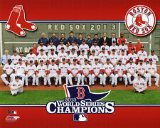 2013 BOSTON RED SOX Team Roster World Series Champions Glossy 8x10 Photo Poster