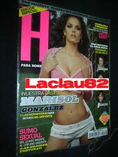 Marisol Gonzalez #124 Revista H Para Hombres Mexican Complete Your Collection