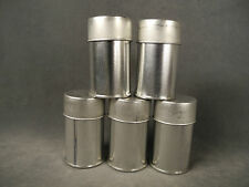 NOS! 5 Vintage Eastman Kodak 70mm Roll Film Metal Canisters Hasselblad Can
