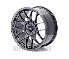 "XXR 530 18"" x 8.75J 5x100/112 CHROME BLACK MASSIVE WIDE RIMS ALLOYS WHEELS Z1873"
