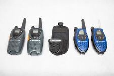 Lot of 4 Motorola Talkabout Walkie Talkies T5720 & FR50 Handheld Radios Two Way