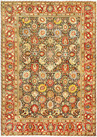 Antique Persian Tabriz Rug (size adjusted) BB4776