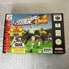 1997# VINTAGE NINTENDO 64 ISS64 INTERNATIONAL SUPERSTAR SOCCER 64 #PAL  NIB