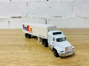 Matchbox Super Rigs FedEx Tractor Mack CH600 Trailer Truck Container Transporter