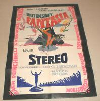 A1 Filmplakat ,FANTASIA WALT DISNEY,ZEICHENTRICK