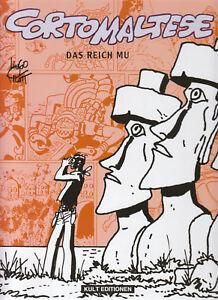 Corto Maltese das Reich Mu Hardcover Comic von Hugo Pratt in Topzustand !!!