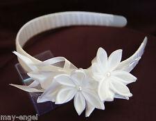 Kopfschmuck Haarschmuck Kranz Tiara Haarreifen Kommunion Hochzeit *375