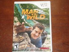 Man vs. Wild With Bear Grylls (Nintendo Wii) - Complete in Great Condition!