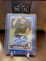 2020 Bowman Chrome Levi Kelly Blue Auto Refractor Autograph Diamondbacks 23/150