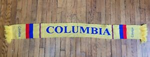 Colombia Soccer Football Scarf