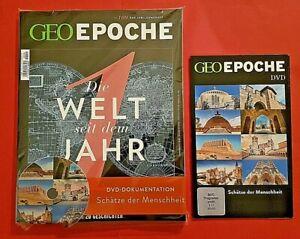 Geo Epoche Nr.100 Die Welt im Jahr 1 Jubiläumsheft + DVD  ungelesen