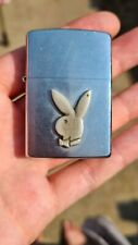 Zippo Brushed Chrome Playboy Logo Code C 03