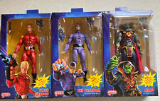 Defenders Earth Flash Phantom Ming Lot Of 3 Neca Action Figures Free Shipping