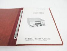 New listing Manual Lot - Unitek 1-059-02 Power Supply With 2-032-03 Welding Head