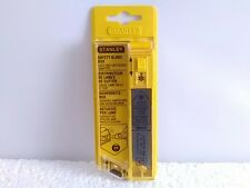 STANLEY SAFETY BLADE BOX 18MM