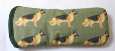 GERMAN SHEPHERD DOGS ALL OVER- cotton GLASSES CASE ideal small gift