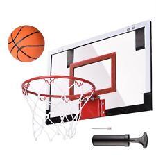 Mini Basketball Hoop System Kids Goal Over The Door Indoor Sports w/ Ball+Pump