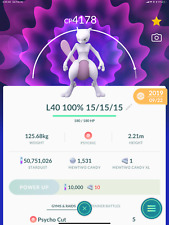 Pokémon GO - Mewtwo  Remote Raid Invite February 20-28 (9am-12pm EST)