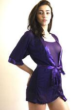Biancheria camicie da notte in poliestere glamour per la notte da donna