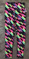 NEW VICTORIA'S SECRET SPORT Knockout  LEGGINGS Tights Pants Multicolor sz Medium