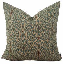 Srilanka Driftwood Brown Ikat Designer Cushion Pillow Cover