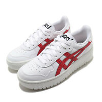Asics Japan S PF White Classic Red Women Casual Platform Sportstyle 1202A024-101
