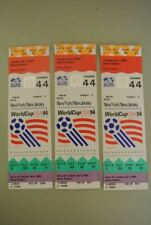 FIFA WORLD CUP 1994 TICKETS LOT OF 3  TICKETS
