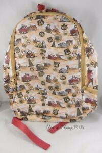 New Disney Parks Store Pixar Cars Route 66 School Backpack Book Bag Day Pack
