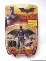 Batman Begins 2005 Batman Bomb Blast Action Figure by Mattel NIB