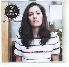 (GR140) Hannah Boleyn, No hard Feelings - 2014 DJ CD