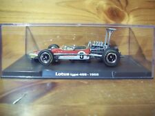 1/43 RBA/ATLAS MODELS LOTUS TYPE 49B GRAHAM HILL 1968 WORLD CHAMPION