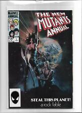 THE NEW MUTANTS ANNUAL #1 1984 NEAR MINT- 9.2 5369