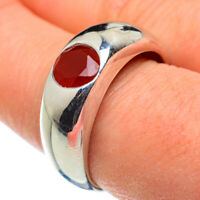Red Onyx 925 Sterling Silver Ring Size 9.75 Ana Co Jewelry R48545F
