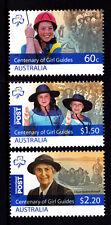 2010 Centenary of Girl Guides Australia - MUH Complete Set