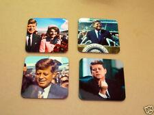 JFK John F. Kennedy US President Drinks Coaster Set