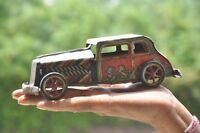 Vintage Vent dessus B 157 Litho Voiture Boite Jouet, de Collection
