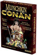 Munchkin Conan, Nuovo Gioco Base, Party Game, Raven, Italiano