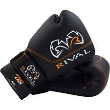 Rival Boxing Rb1 Hook and Loop Ultra Bag Gloves - 8 oz - Black