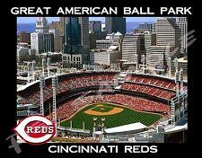 Cincinnati - GREAT AMERICAN BALLPARK - Souvenir Magnet