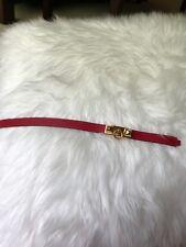 Hermes Rivale Double Tour Rouge Casaque GHW Bracelet Small