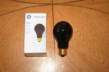 GE 60w Black Light Bulbs, 4 Total (0.9 Year Life, A19 Bulb Type, Medium Base)