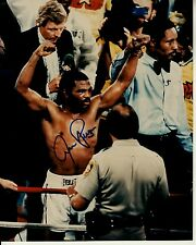 Aaron Pryor hand-signed Boxing Champion In-Ring Closeup 8x10 authentic w/ Coa