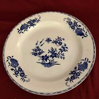 "Boch F La Louviere Grand Bouquet 11 2/3"" Diameter Round Serving Platter"