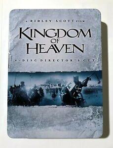 Kingdom of Heaven: Director's Cut - 2005 Ridley Scott - Ltd. Edition 4-DVD Tin