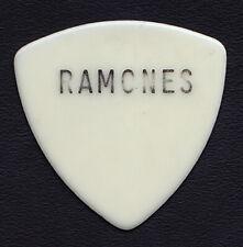 Ramones Johnny Ramone Concert-Used Large Print Guitar Pick - 1980s Tours